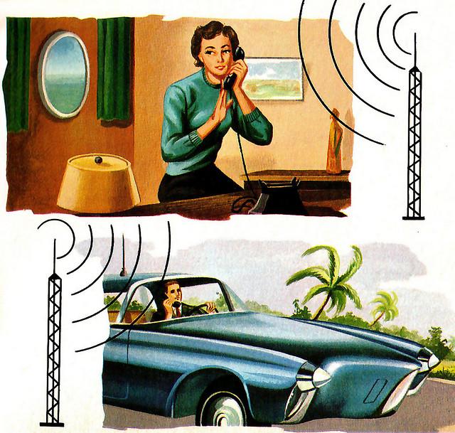 ¿Teléfono en el coche? Ciencia ficción