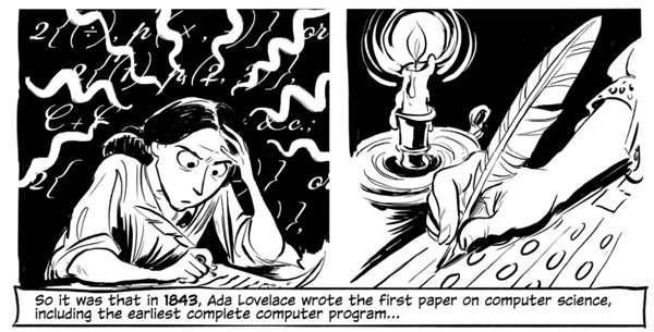 The Thrilling Adventures of Lovelace and Babbage: The (Mostly) True Story of the First Computer