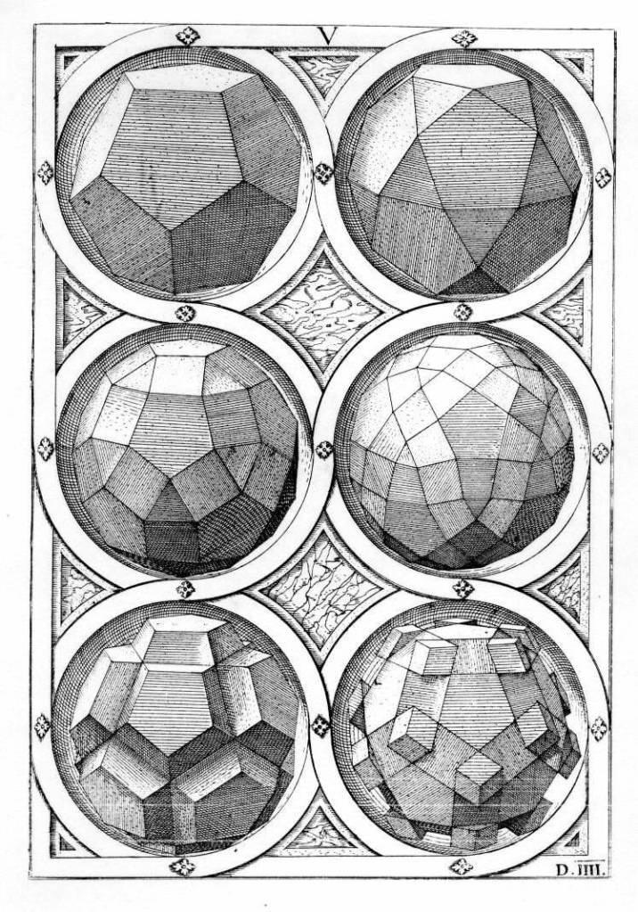 Platonic-Solids-by-Wentzel-Jamnitzer-1508-1585